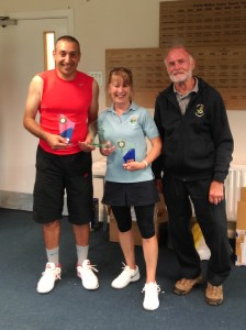 Our Mixed Doubles champions