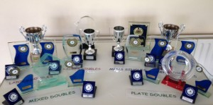This years trophies, ready to be won!